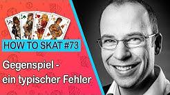 How To Skat #73: Ein typischer Fehler im Gegenspiel (mit Untertiteln / with English subtitles)