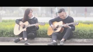 Anh - Thùy Chi - Guitar Duet Easy version (Tuan Vu & Hac Nho)