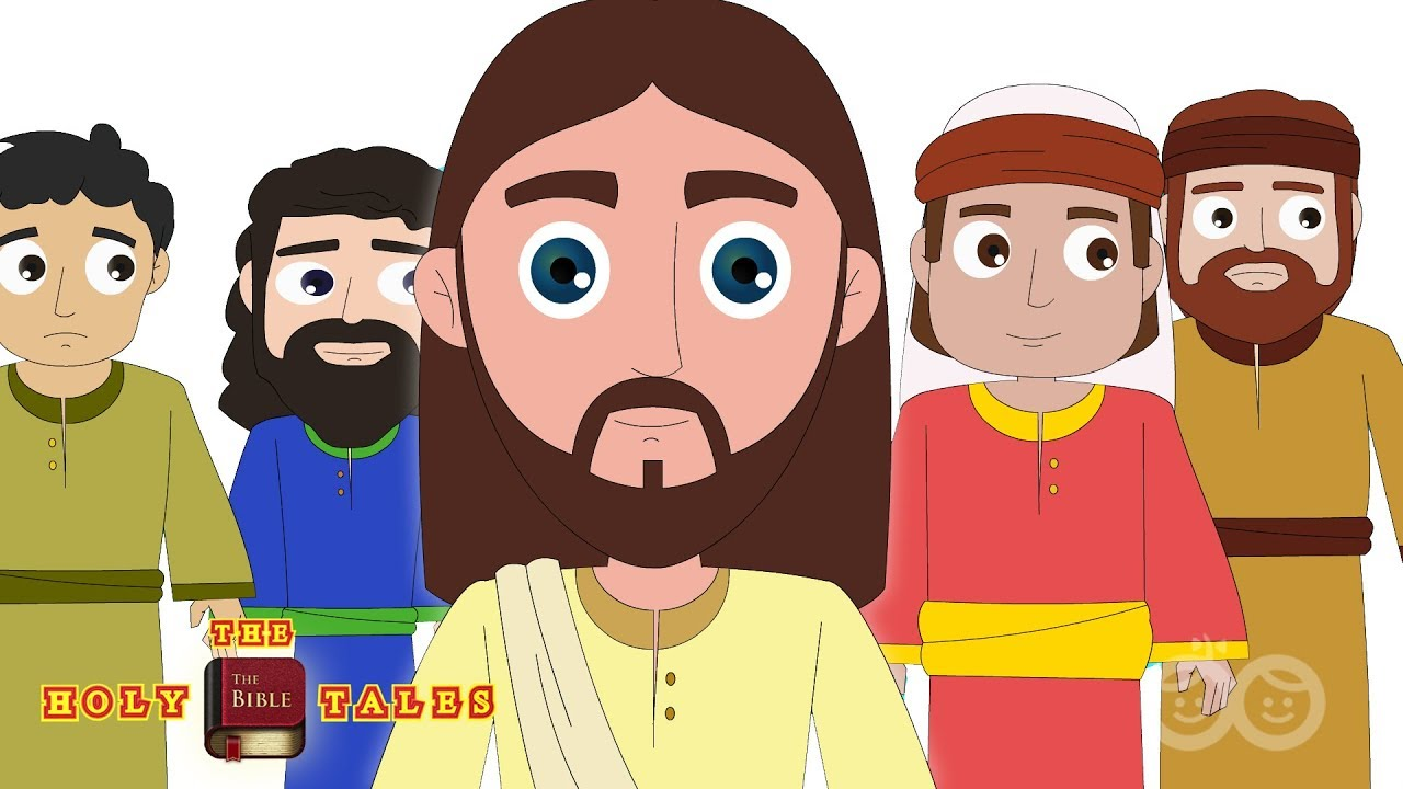 Download Jesus and 12 Disciples   Call for Disciples   Bible Story for Children   Holy Tales Bible Stories