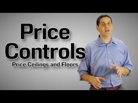 Price Ceilings and Floors- Economics 2.6