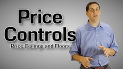 Price Ceilings and Floors- Micro Topic 2.8