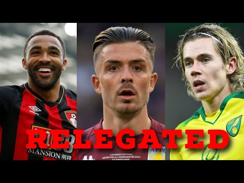 'Jack Grealish will join Man United' | Premier League Relegated XI - and where they are headed next