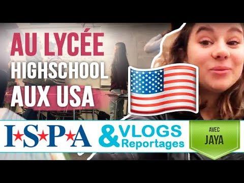 Un jour au #LYCEE aux #USA - Vlog #4 - Jaya avec ISPA