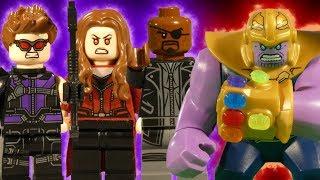 LEGO AVENGERS INFINITY WAR THE MOVIE - TRAILER - MARVEL STOP MOTION thumbnail