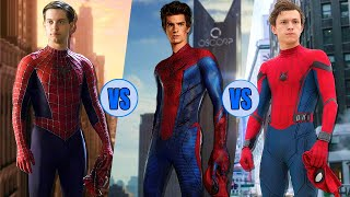 Who Is The Best Spider-Man? - Tobey Maguire vs. Andrew Garfield vs. Tom Holland