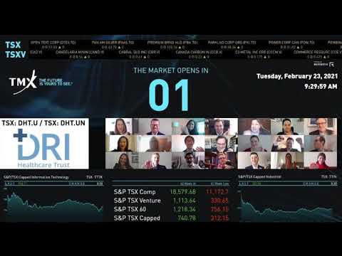 DRI医疗保健信托实际上打开了市场