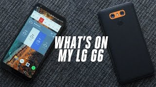What's On My LG G6 - March 2017