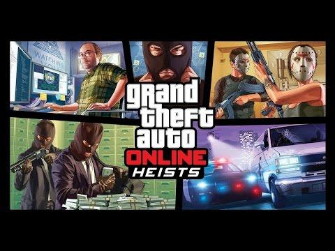 Grand Theft Auto Online Heist Gameplay Xbox One | The Fleeca Job | Coop