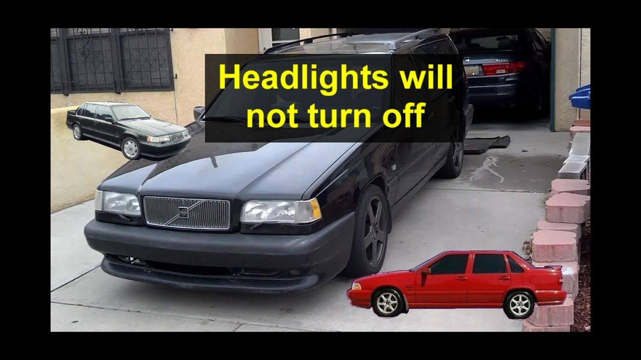 Daytime Driving Lights Settings On Volvo Cars Headlights All The 2001 S40 Fuse Diagram Time Votd