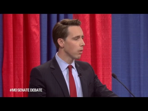 McCaskill, Hawley debate in STL