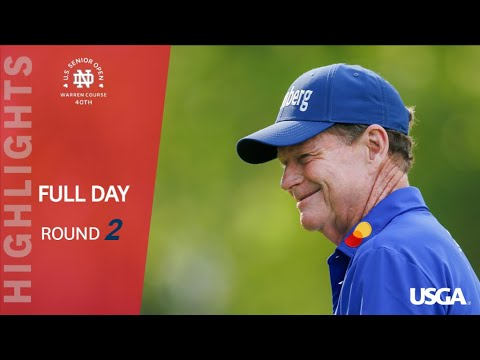 2019 U.S. Senior Open, Round 2: Extended Highlights