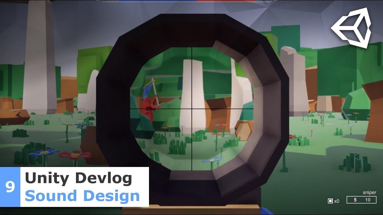 Sound Design Tips - Unity Multiplayer FPS Devlog #09