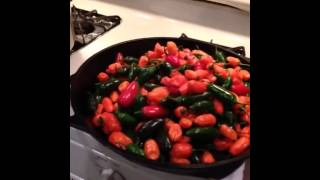 Habanero And Jalapeno Peppers Pickling And Canning