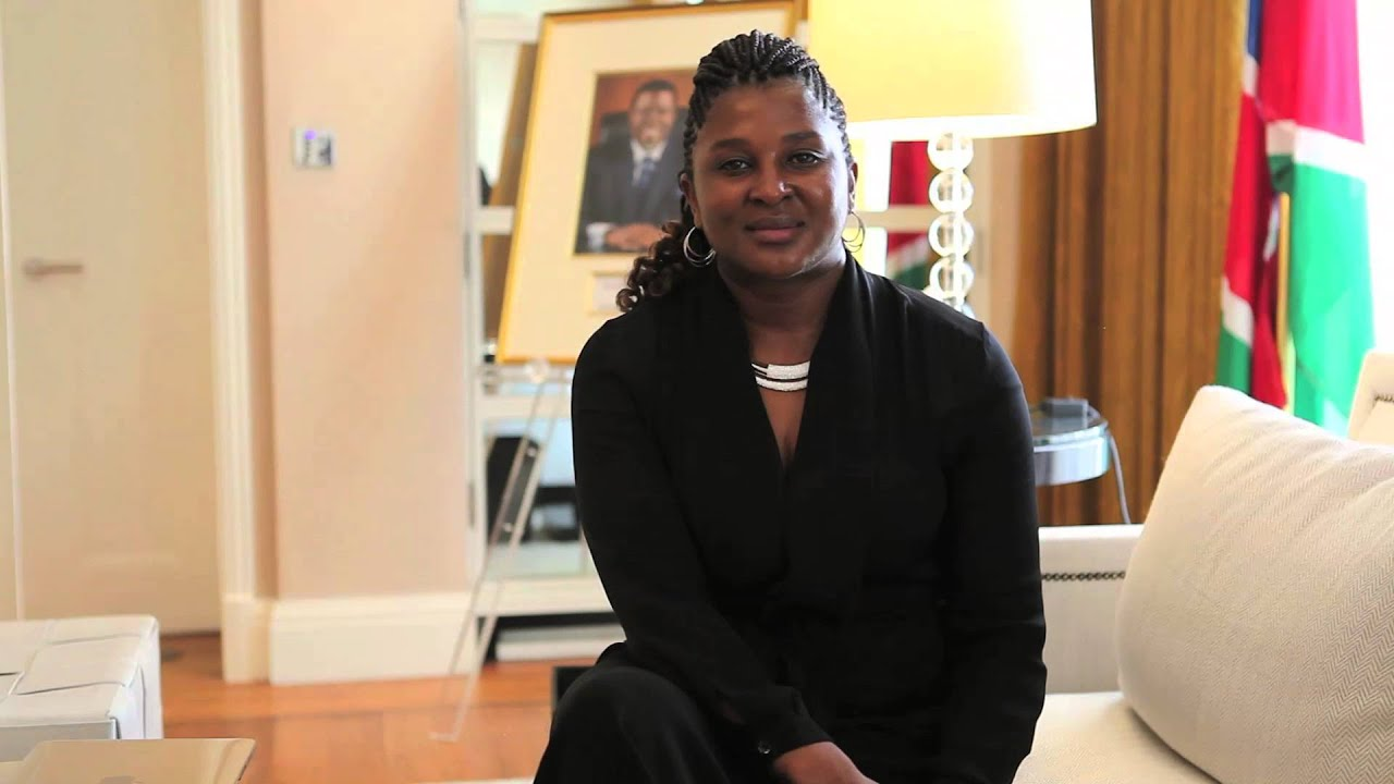 Image result for Namibia's First Lady, Monica Geingos