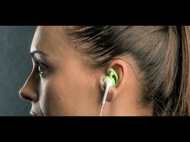 SureFire EarLocks - hold earbuds in place...