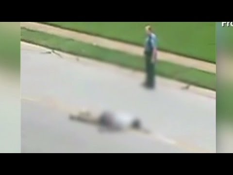 Witness describes Michael Brown shooting