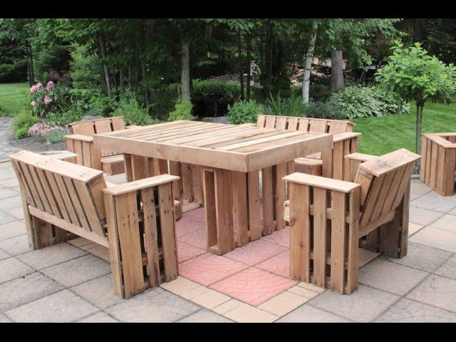 Beautiful Table Salon De Jardin Fait Maison Pictures - Amazing ...