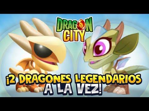 ¡2 DRAGONES LEGENDARIOS A LA VEZ! ⭐️ Dragon City   iTownGamePlay