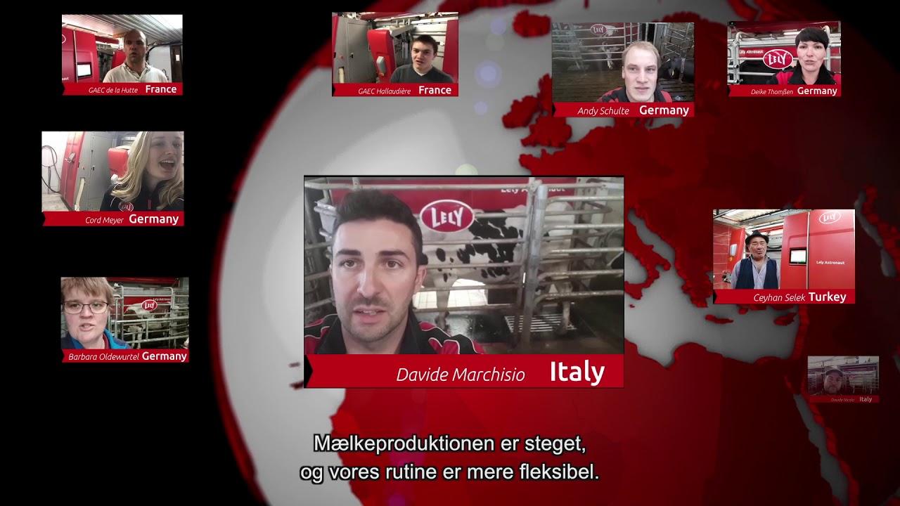 Lely Astronaut A5 - Første års erfaringer - Video 5 (DK)