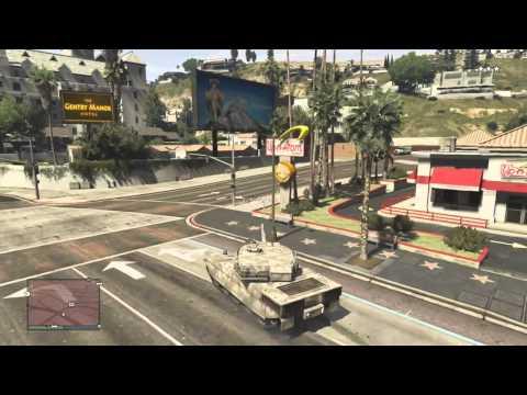 GTA 5 Online - Panzer & Buzzard + Location (Deutsch/German)