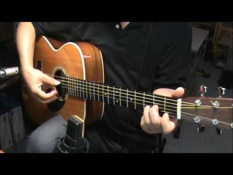 GENTLE ON MY MIND - john hartford-CHORDS-fingerstyle
