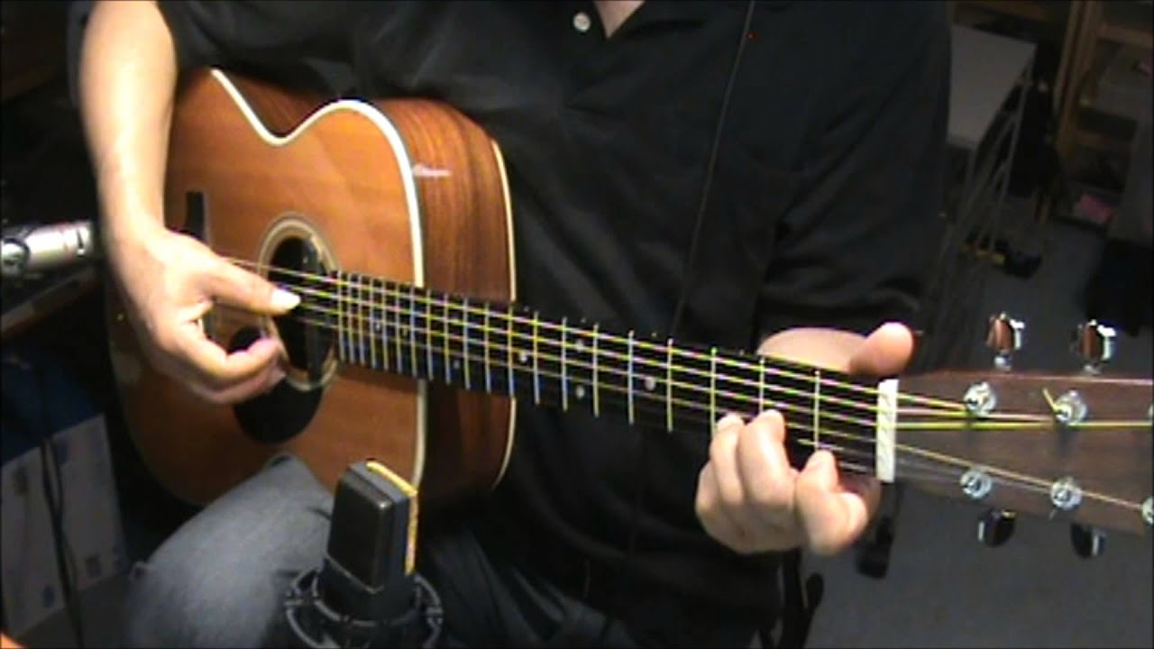 Gentle On My Mind John Hartford Chords Fingerstyle Youtube
