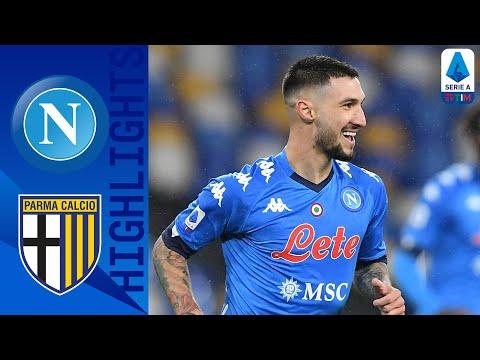 Napoli 2-0 Parma | Gattuso festeggia con i gol di Elmas e Politano | Serie A TIM