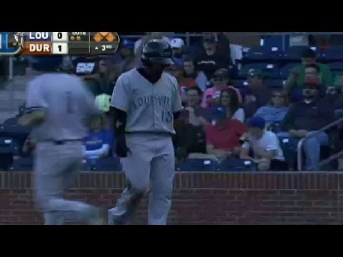 Bats' Perez singles home a run from YouTube · Duration:  22 seconds