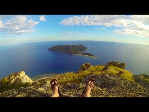 Island hopping trip through Fiji: Backpacking & Diving (GoPro HD)