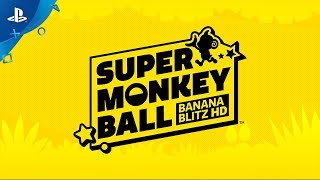 Super Monkey Ball: Banana Blitz HD - Announcement Trailer | PS4