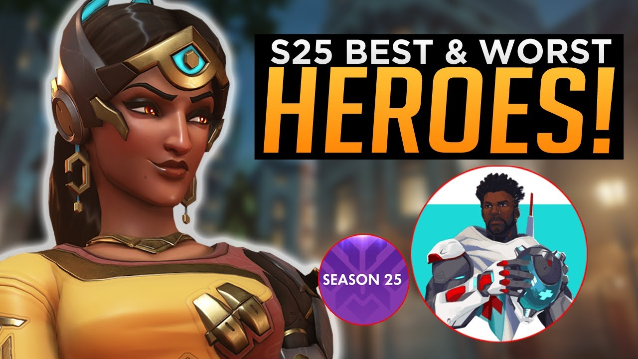Overwatch: NEW Baptiste META! - BEST & WORST Heroes Season 25
