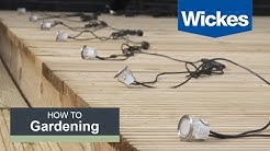 How to Install Deck Lighting with Wickes