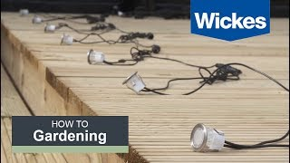 Video How to Install Deck Lighting with Wickes download MP3, 3GP, MP4, WEBM, AVI, FLV Agustus 2018