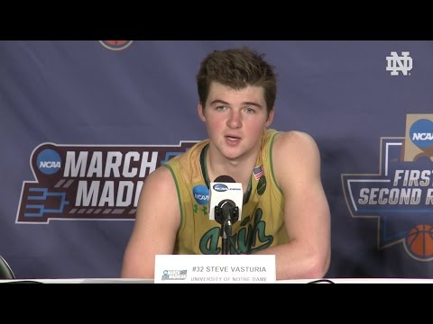 Notre Dame Men's Basketball Post-Game Player Press Conference - West Virginia