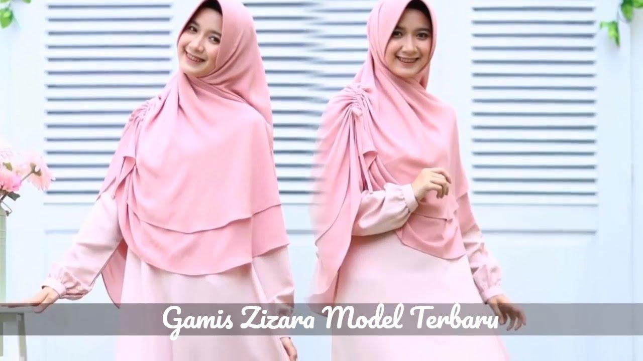 Gamis Zizara Hijab Terbaru Gamis Chic 081315720052 Youtube
