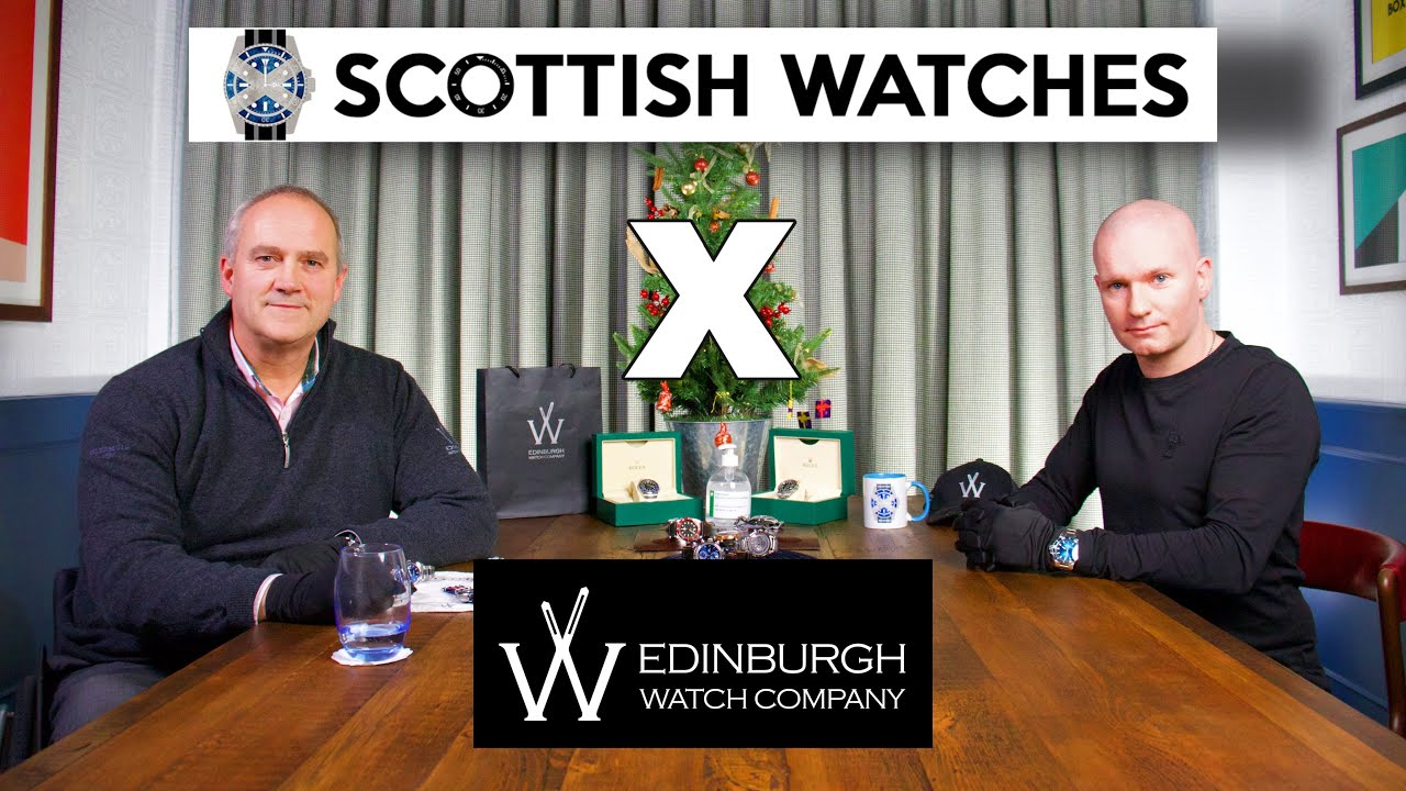 EWC and Scottish Watches chat about 12 cracking watches for Christmas