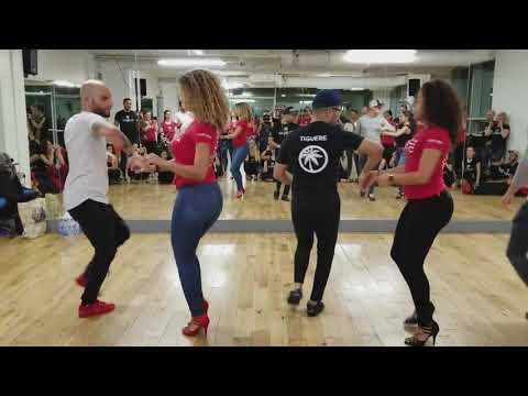 Позитивный мастер   класс! Танцуют Атака, Ла Алемана и их Друзья!