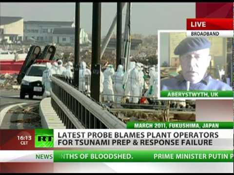 Busby: Fukushima 'criminal event' calls for investigation