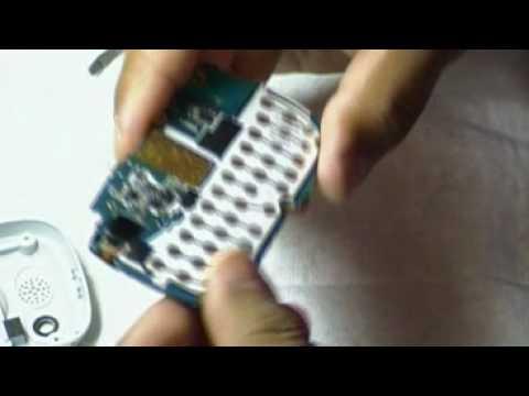 Desmontando el Samsung KNOX 3310B parte 1