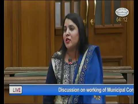 AAP MLA Parmila Tokas on working of Municipal Corporations of Delhi and utilization of funds