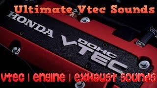 Ultimate Vtec N/A, Engine, Exhaust Sounds Compilation | Part 1