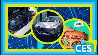 BMW Vision iNEXT, Audi's e-Foil, Nissan LEAF e-Plus and Impossible Burger 2: CES 2019 Day 3