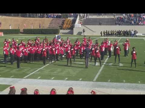 West Hoke Middle school at the 2017 Shrine Bowl pt2