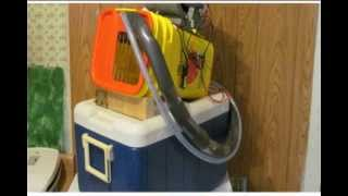 """AIR CONDITIONING -12 VOLT - ICE POWERED - """"ENCLOSED SWAMP COOLER STYLE"""""""