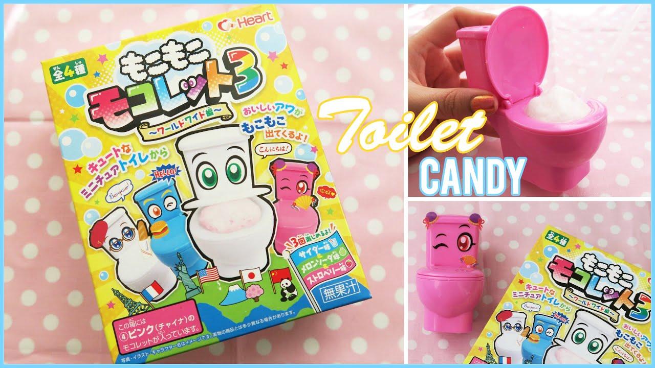 new set toilet foam candy diy japanese candy kit youtube. Black Bedroom Furniture Sets. Home Design Ideas