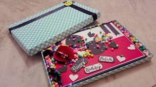 Birthday #scrapbook #greetingcard  #giftbox