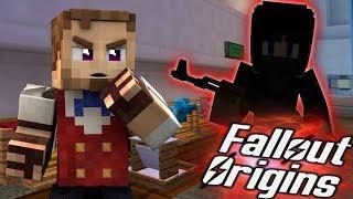 INTRUDER ALERT! Minecraft FALLOUT ORIGINS #14 ( Minecraft Roleplay SMP )