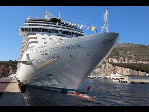 SEVEN SEAS EXPLORER The Worlds Most Luxurious Cruise Ship In - Cruise ships in monaco today