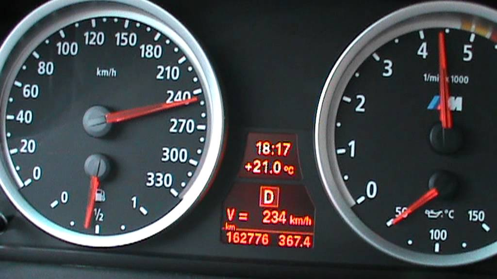 Bmw E60 535d 300 Kmh 350 Hp Tuning Power Diesel Youtube