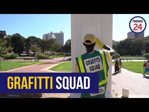 WATCH | Meet The 'Grafitti Squad' Cleaning Up Cape Town's City Centre